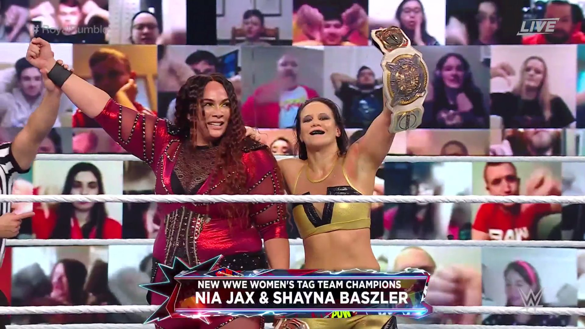 We have new WWE Womens Tag Champions