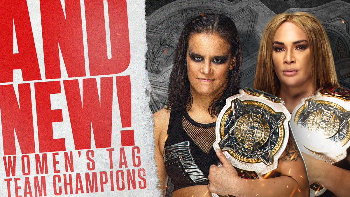 Shayna Baszler & Nia Jax Win Women's Tag Team Titles
