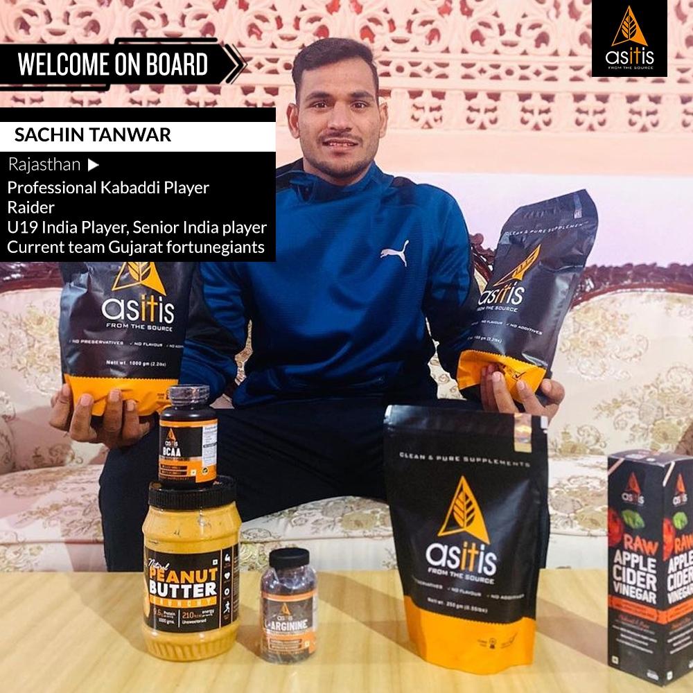 Welcome on board @sachin.tanwar.71868  Sachin Tanwar U19 India Player Senior India player Professional Pro Kabaddi player  #asitisnutrition #prokabaddi #kabaddileague #olympics2021 #indianteam #teamkabaddi #kabaddiplayer #gymfitness #gymindians #proleague #prokabaddi