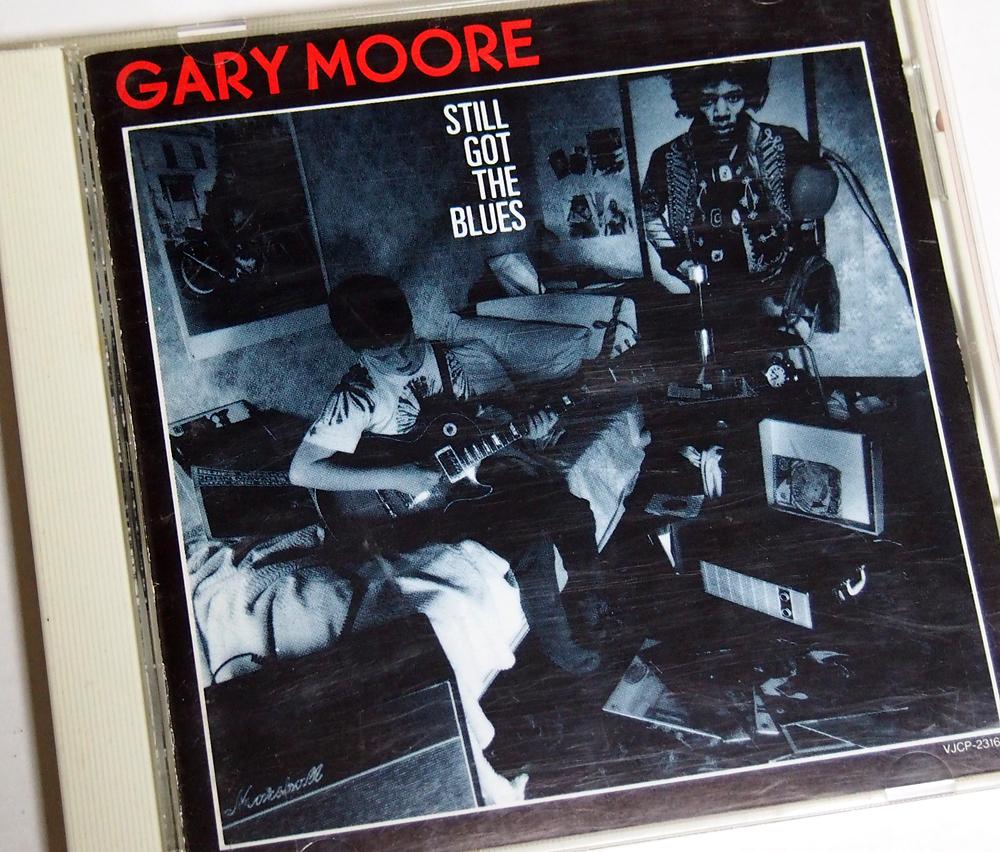 🇬🇧Gary MooreStill Got The Blues (Music Video)渋いブルースロックですが、発売当時ゲイリーはまだ37歳だったんですね。今の自分よりずっと年下😅若いのに渋い音楽やっていたんだなと、最近ではそう感じます💿 Still Got The Blues