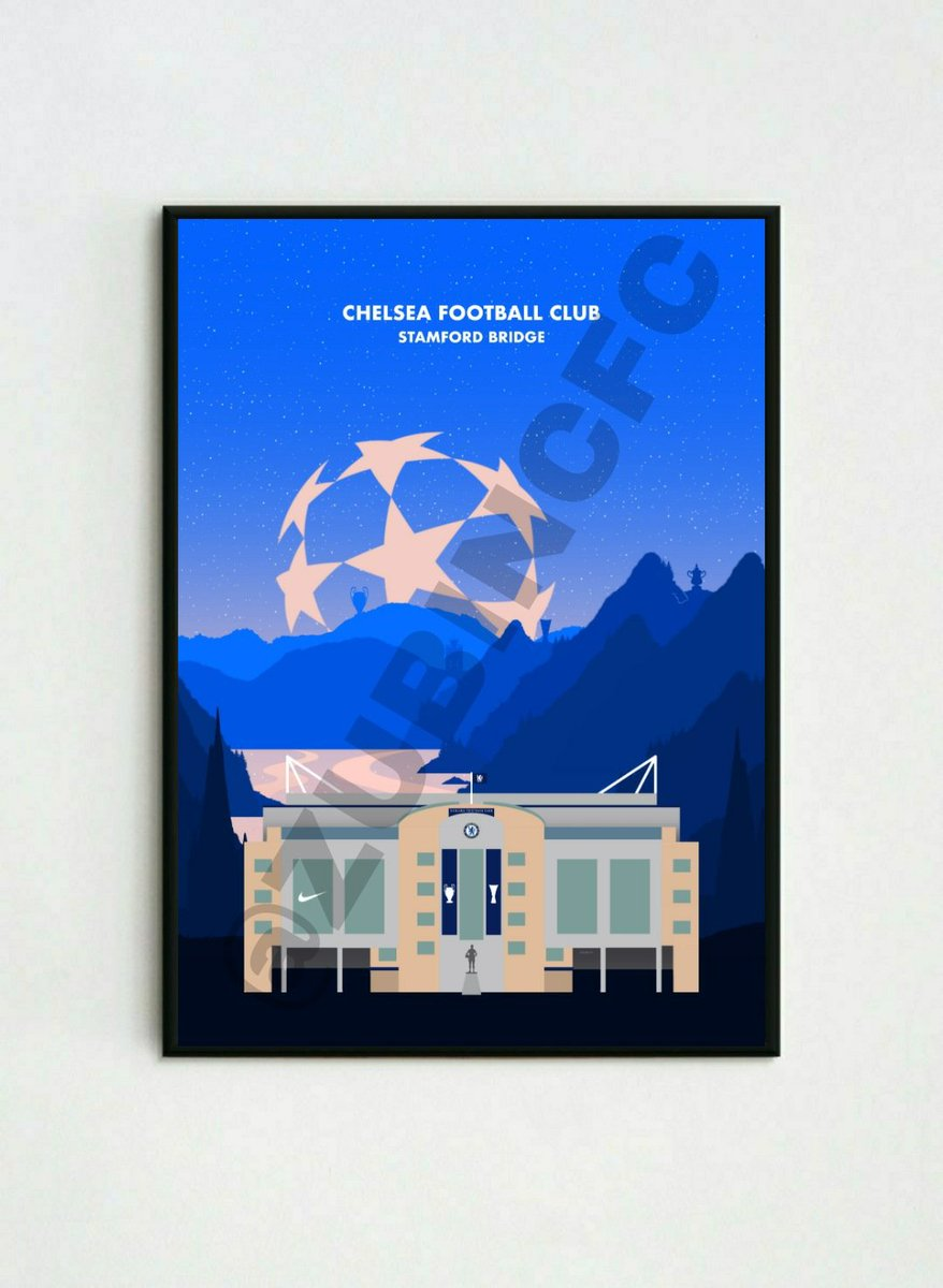 🚨 Giveaway 🚨 Chelsea fans 👀  I'm giving away *2 Prints* one on twitter and one on Instagram ( same handle )  All you have to do is follow me and RT this tweet to enter! Winner will be announced on Friday! 💙 https://t.co/4d0wkN6VMv