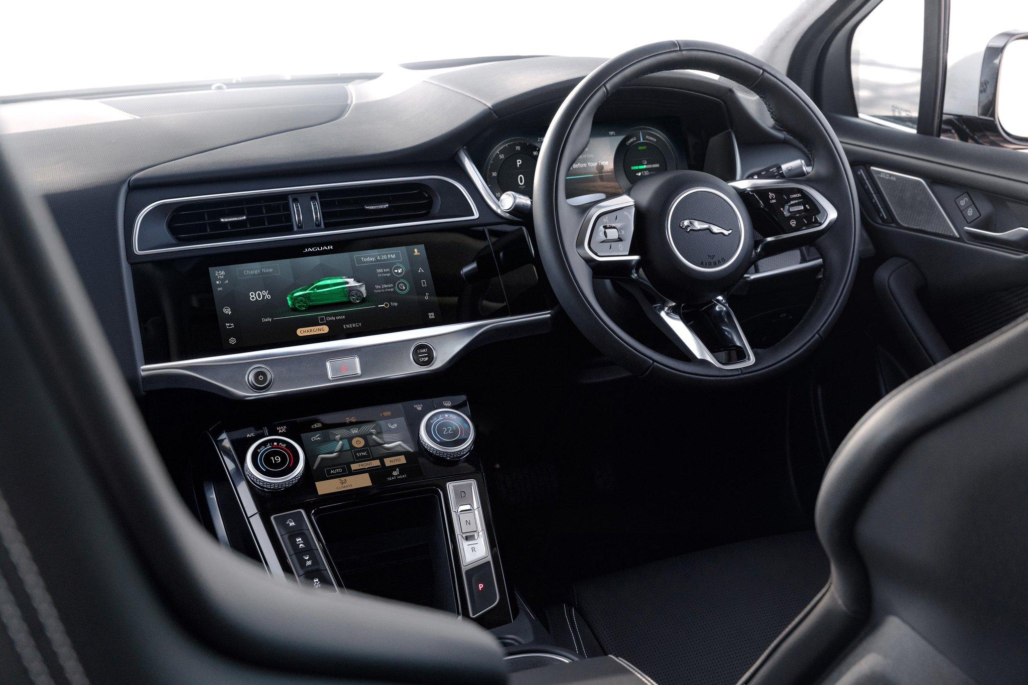 Jaguar I-PACE Interior Image Supplied by Jaguar Land Rover South Africa