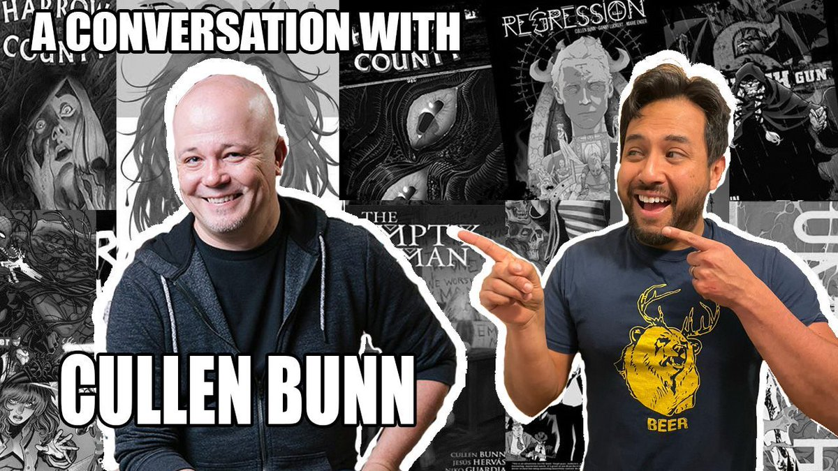 Heads up Minties! Head over to Near Mint Condition at 11:00 EST for a live chat with the Uncanny Omar and @cullenbunn! #cullenbunn #comiccreatorinterview