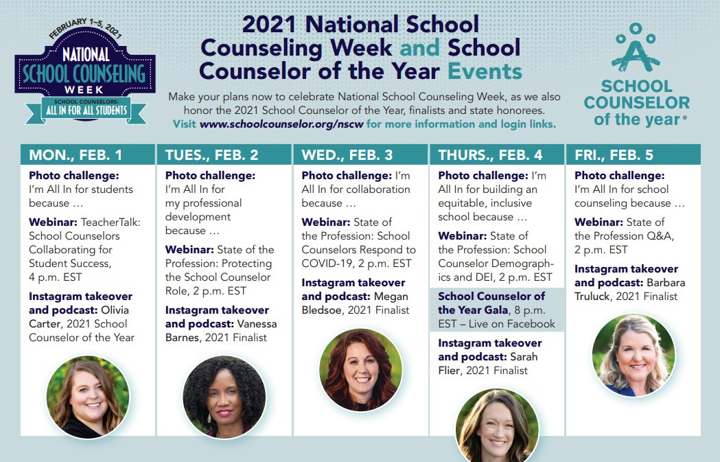 RT <a target='_blank' href='http://twitter.com/VSCA'>@VSCA</a>: ASCA events for the week. Happy NSCW 2021! <a target='_blank' href='https://t.co/U4iE5pX4sM'>https://t.co/U4iE5pX4sM</a>