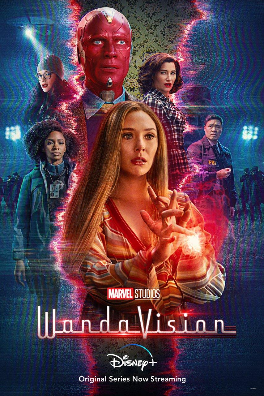 WandaVIsion bisa di tonton di Disney+ (Foto via Twitter @wandavision)