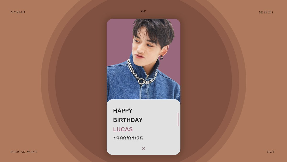 Belated Happy Birthday, @lucas_wayv!!  🎁 :  ᅠ #黄旭熙0125生日快乐 #HappyLUCASDay