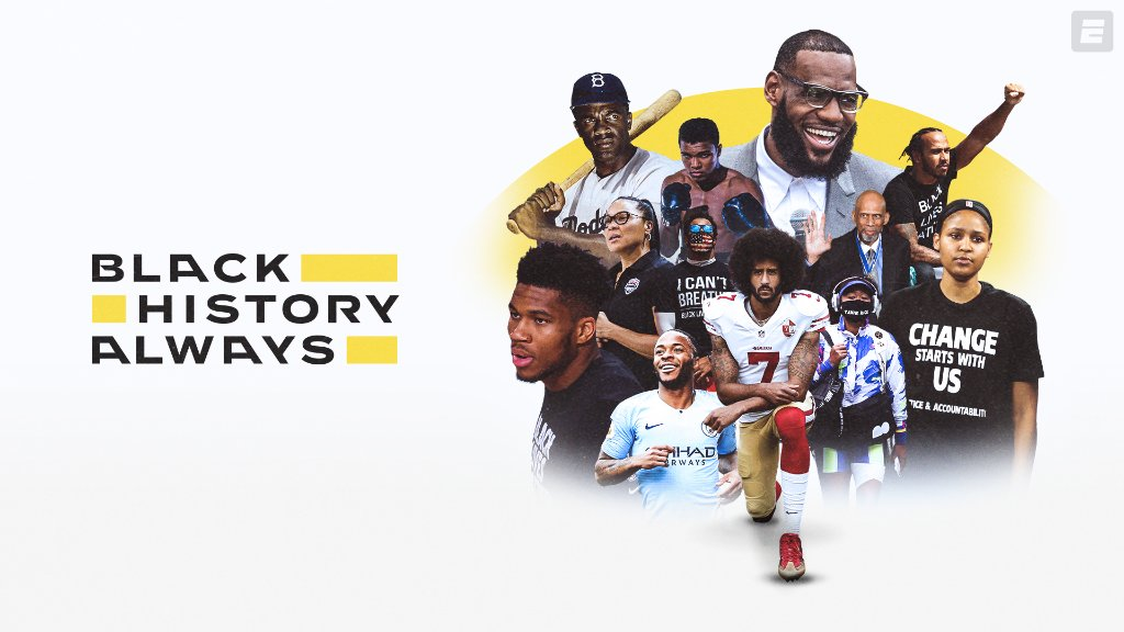 From Bubba Wallace to Maya Moore, Muhammad Ali to Colin Kaepernick, sports figures have continued to break barriers in the fight for equality.  Throughout #BlackHistoryMonth we applaud those who have pushed the world forward, and chose to not simply stick to sports.