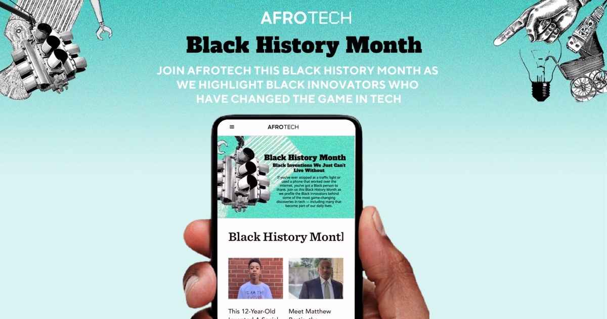 If you've ever stopped at a traffic light or used a phone that worked over the internet, you've got a Black person to thank 🌺  Join us this #BlackHistoryMonth as we profile Black innovators behind some of the most game-changing developments in tech ✊🏿