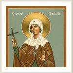 Image for the Tweet beginning: To St Brigid  Brigid, you were