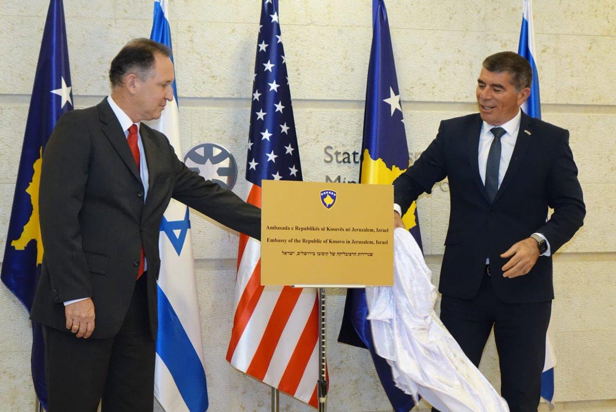 إسرائيل تغرد : قطار السلام.. أعلنت دولة إسرائيل وجمهورية كوسوفو ذات الأغلبية المسلمة تطبيع العلاقات بين البلدين. وو…