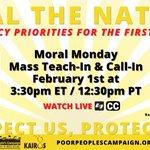 Imagen del comienzo del Tweet: Este #MoralMonday exigimos una