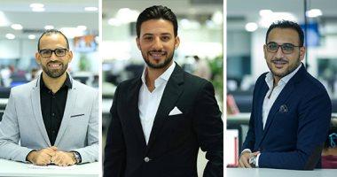 تعيين محمد السيسى وحسن مجدى وتامر إسماعيل رؤساء تحرير لتليفزيون اليوم السابع