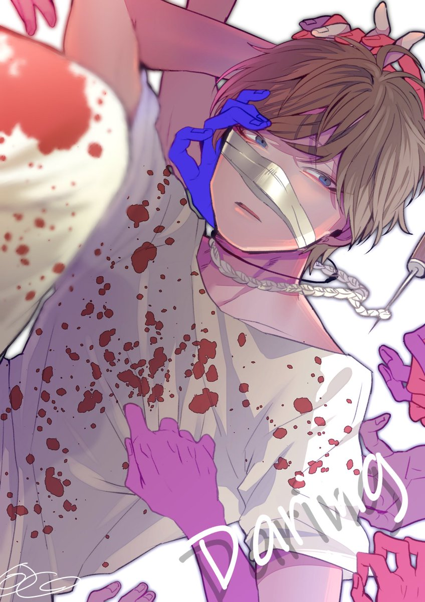 愛の眼球アイスピック! #SLHを描いてみた(【SLH×MeseMoa.】ダーリン 踊ってみた【K'suke】  )