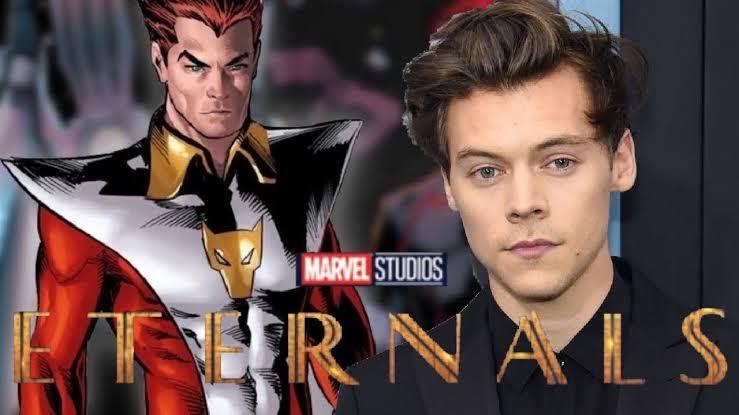 """Nação Marvel در توییتر """"[voltamos a programação normal] Se caso o Harry  Styles esteja em Eternals, qual personagem vocês acham que ele faria? Me:  StarFox… https://t.co/mCJfGcATXZ"""""""