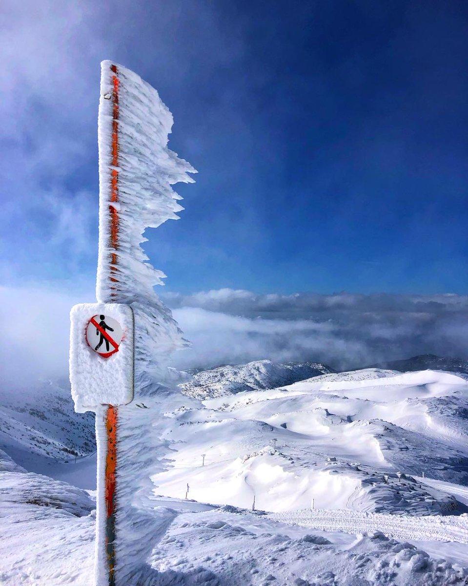 إسرائيل تغرد : الثلوج في جبل الحرمون..  عند الطرف الشمالي لإسرائيل، على ارتفاع 2000 متر، تشمخ قمة جبل حرمون (جبل ال…