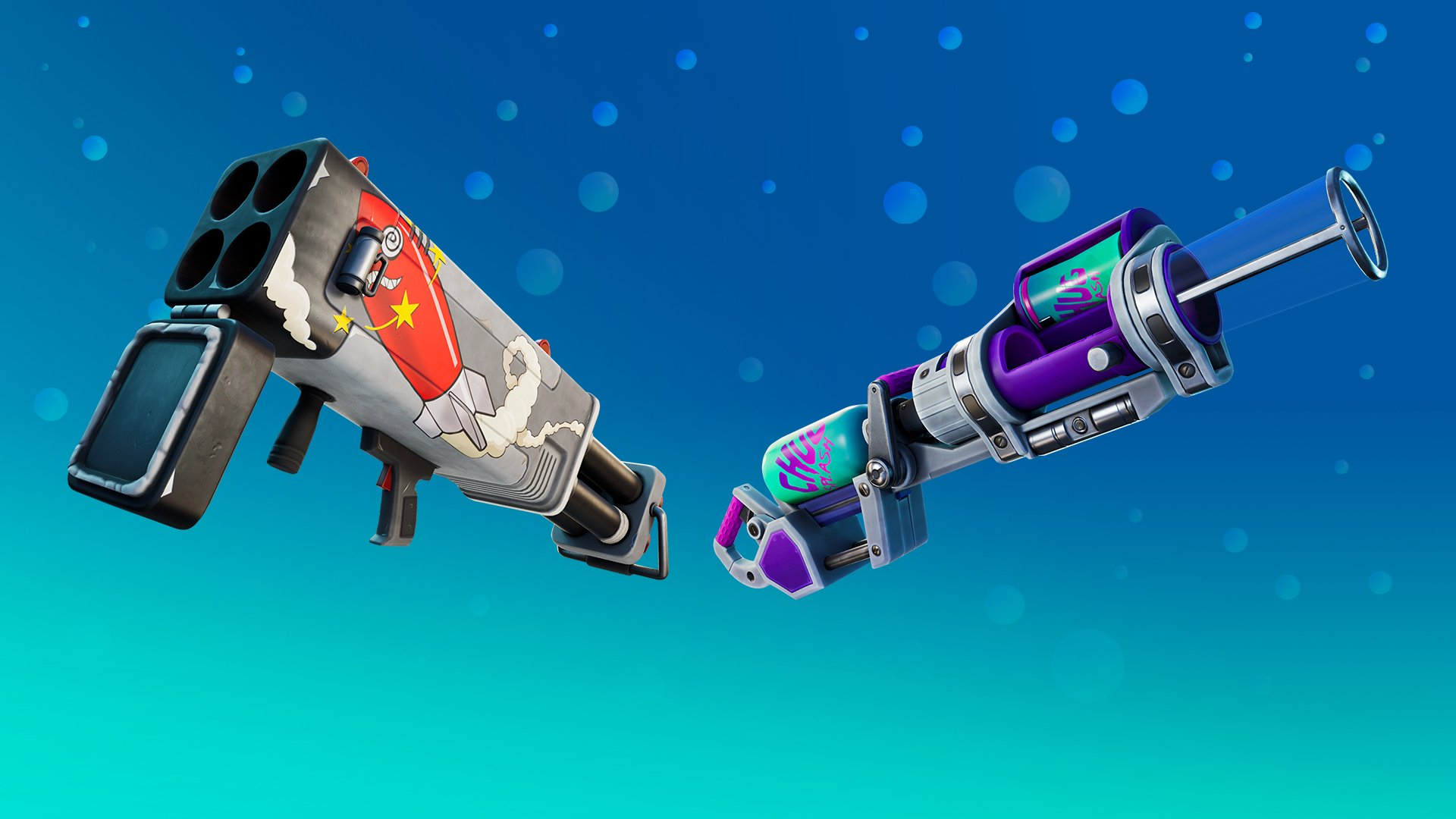 fortnite season 5 exotic weapons