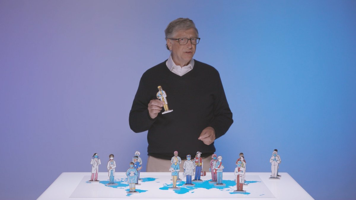 Weirdo Bill Gates Calls For 'Global Alert System' Ahead Of 'Next Pandemic' (who put this f'ing guy in charge anyway??) EtLP7D8UUAAryll