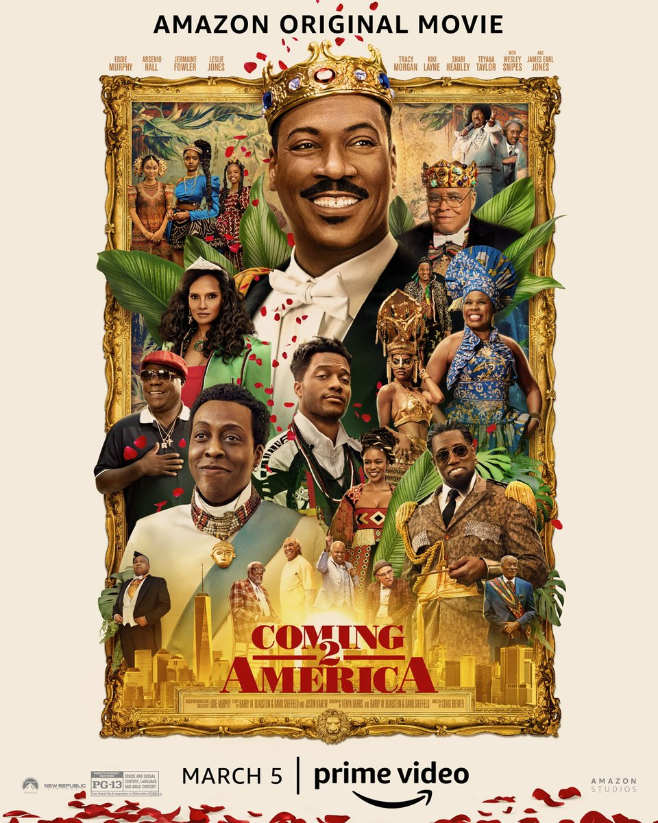The return of royalty. #Coming2America is coming to @primevideo March 5th