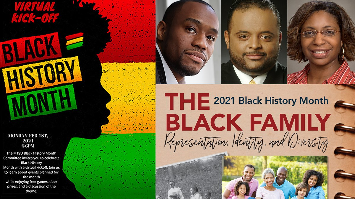 Image result for MTSU Celebrates Black History Month With Virtual Events