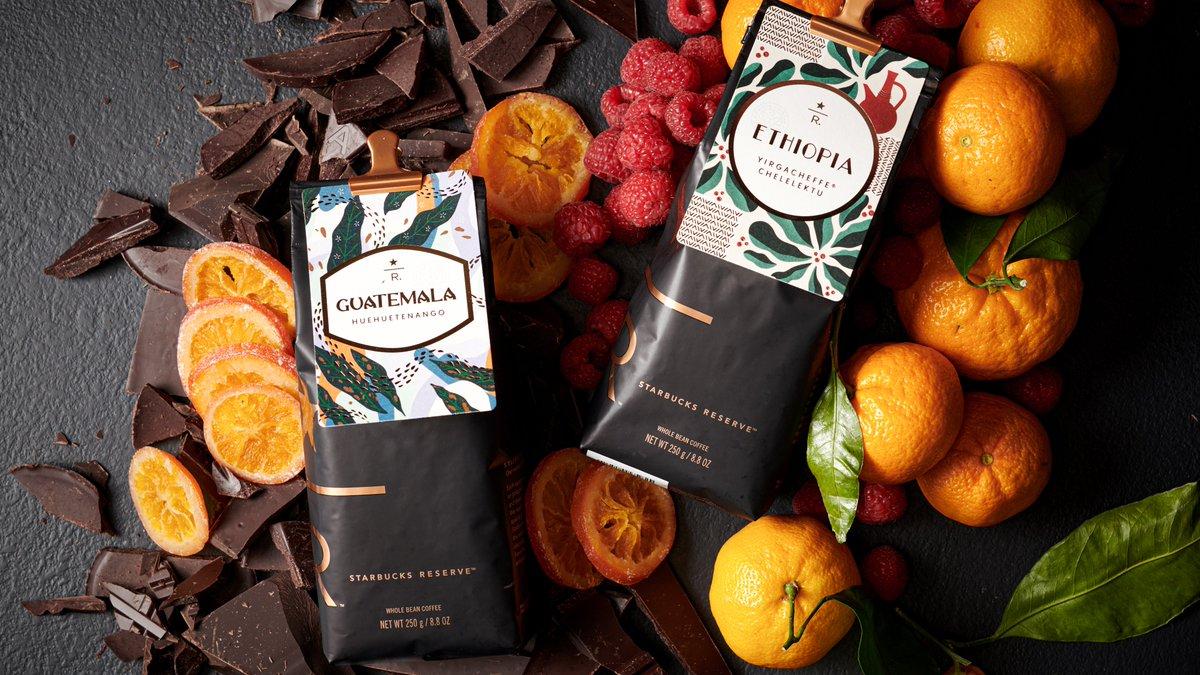 Enjoy single-origin Starbucks Reserve coffees now available at select U.S. Starbucks stores. Discover new flavors with our seasonal releases, Guatemala Huehuetenango and Ethiopia Yirgacheffe Chelelektu.