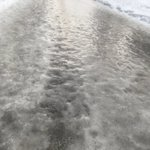 この状況に恐怖する?雪国の民ならわかるヤバイ路面状況!