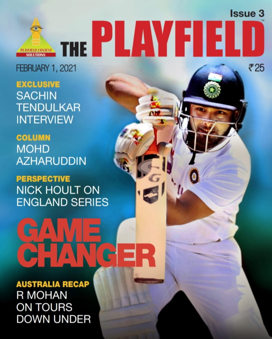 When you think of England series, you think of evergreen @azharflicks. Read his column in our latest edition, @sachin_rt interview and all stats from #INDvsENG series by @rgcricket. There is @TheJoyofGolf writing on our talented women golfers. Subscribe now!