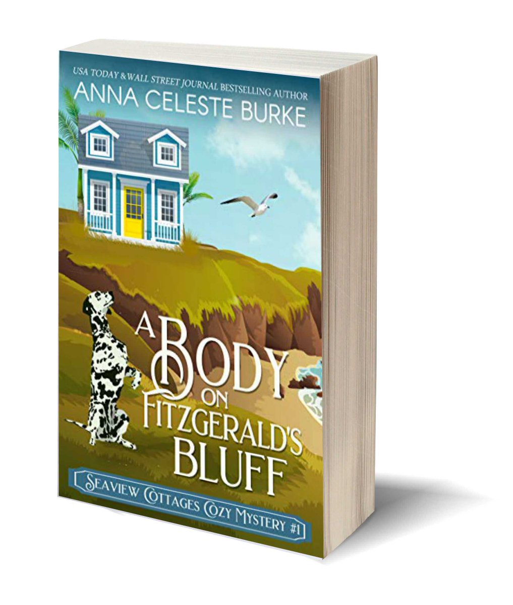 "Can they solve the mystery without becoming the killer's next victim? •A BODY ON FITZGERALD'S BLUFF• 🔗   #ASMSG #bookboost ""@aburke59 🦉  ✎via Pizzazz Book Promotions   ""#IARTG"
