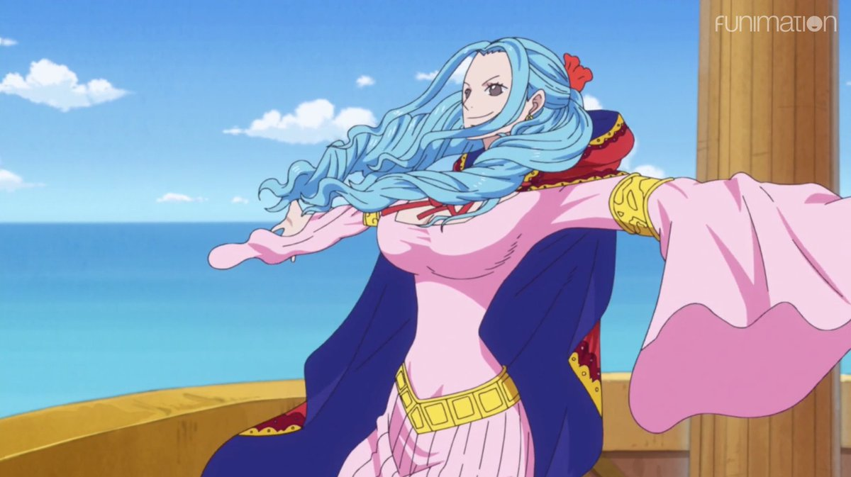 """One Piece on Twitter: """"Happy birthday, Princess Vivi! 🎂💙 Never forget ✖️ # onepiece… """""""