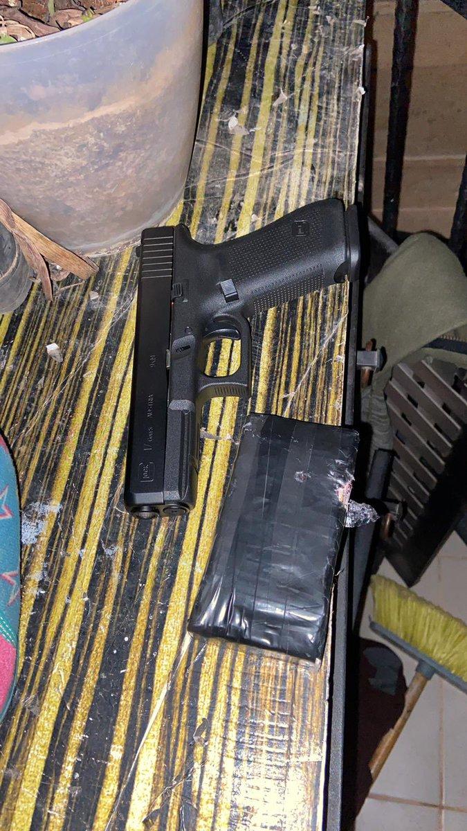 أفيخاي يغرد : قوات جيش الدفاع وبالتعاون مع شرطة إسرائيل تلقي القبض على 27 مشتبهًا بهم في حيازة أسلحة غير قانونية و…