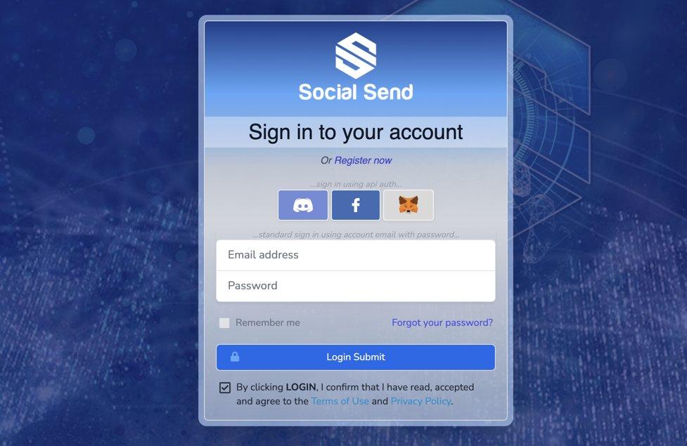 SocialSendCoin photo