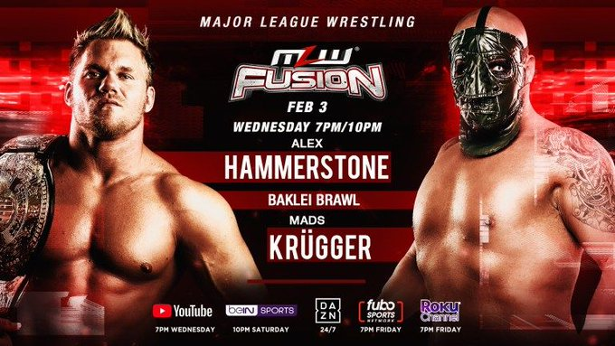 MLW Fusion Preview (2/3): World Tag Team Title Bout, Baklei Brawl Main Event