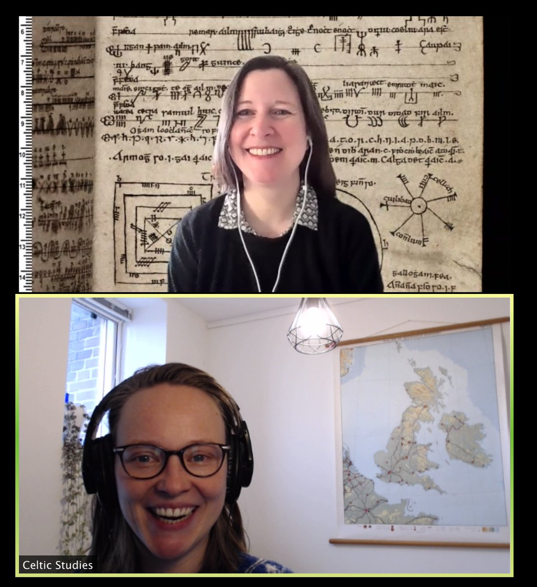 test Twitter Media - 🎙️Next up in the SCS Research #Podcast #Níhansae  we have Bergin Fellow @ChantalKobel discussing medieval brain balls, editing, & the suitability of early Irish sagas for a proper Netflix show. Enjoy!  #manuscripts #DIASdiscovers #IrishPodcast  https://t.co/pGP2WLndLM https://t.co/sNZboOvJ0F