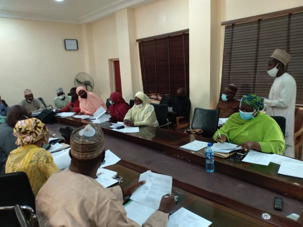Education Management Committee Meeting held today, 2nd February,2021 at the Conference Room of the Ministry of Education Kaduna State, with all agencies of the Education sector represented. @GovKaduna @DrHadiza @Drshehumakarfi @YayiPhoebe @KADqualityEDU @KadunaCoE @officialKASU