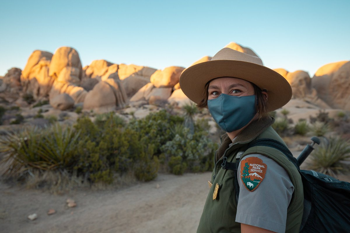 One Safe Thing: National Parks Mask Up