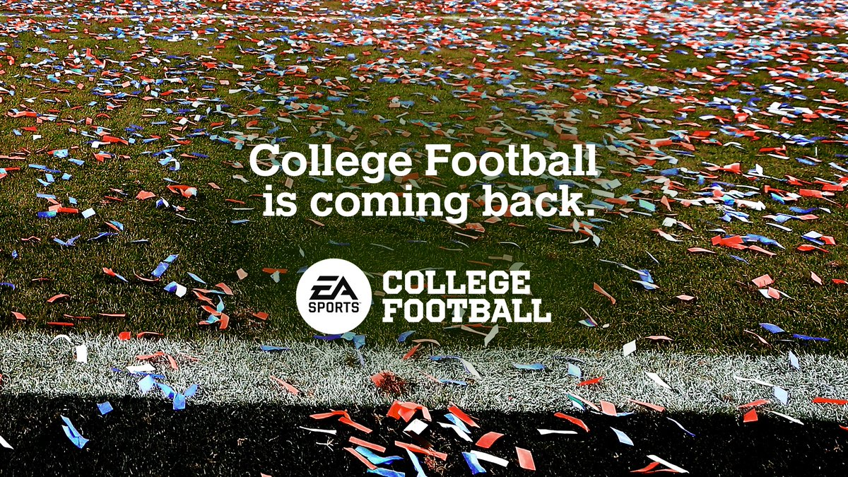 For those who never stopped believing...  #EASPORTSCollegeFootball