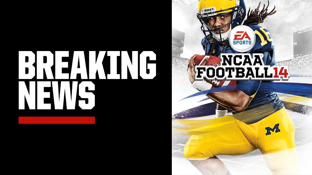 Breaking: EA Sports is rebooting its college football series for Next Generation consoles.   The announcement ends the hiatus that the game has taken since then-Michigan QB Denard Robinson appeared on the cover of NCAA Football 14.