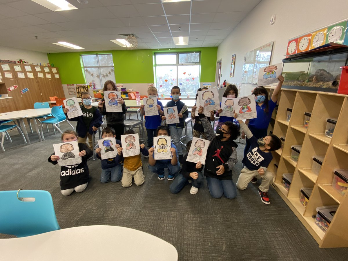 Our partner at @HealthCorps Katie made an intergenerational creative project with our kids for MLK Service Day! They created cards for aging adults in the community who have been suffering with isolation during the pandemic. Thank you for your amazing ideas, Katie!!  #nhutah