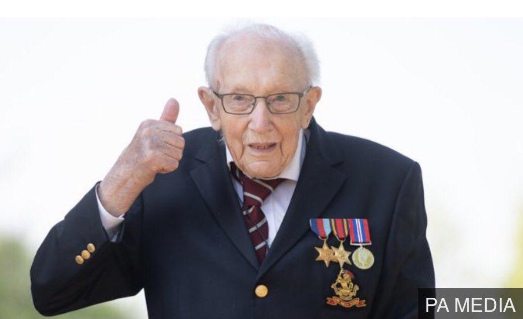 A sad day. RIP Captain Sir Tom Moore.