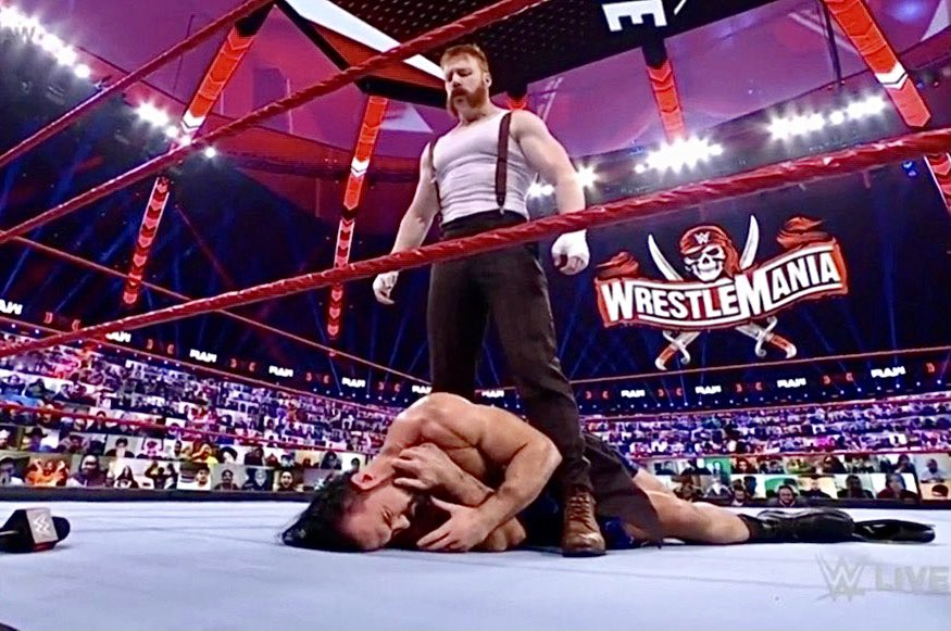 Sheamus Sends Message To Drew McIntyre