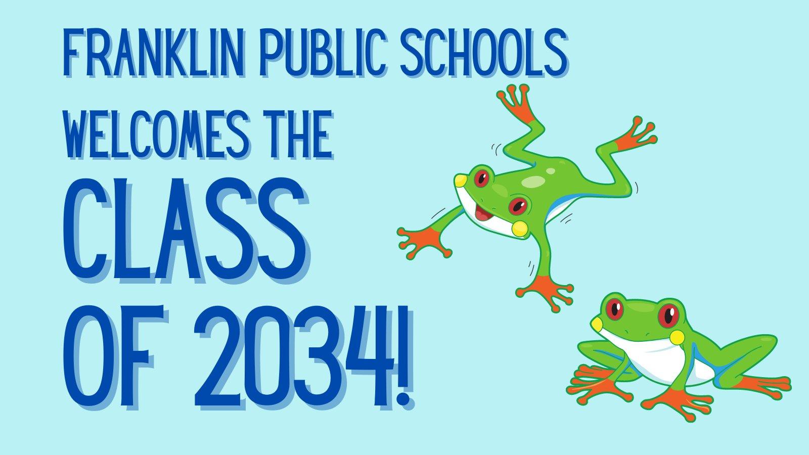 Franklin Public Schools: Kindergarten Registration Open for 2021-2022