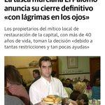 Image for the Tweet beginning: No podré ir al #Palomo