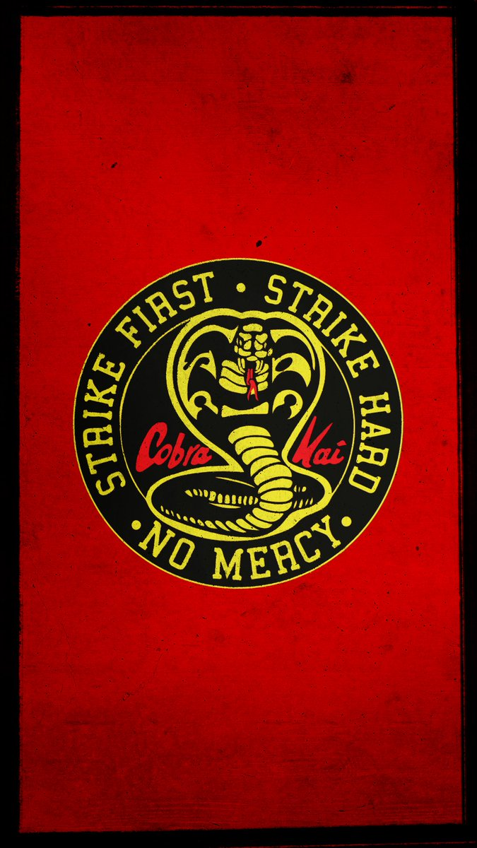Cobra Kai On Twitter Which Badass Wallpaper Are You Gonna Use For Your Smartphone Pearl poster paper rock cobra ring cobra kai t shirt fall out boy poster cobra snake toy cobra statue cobra kai tshirt cobra kai shirt cobra kai jacket cobra lamp blur poster. cobra kai on twitter which badass
