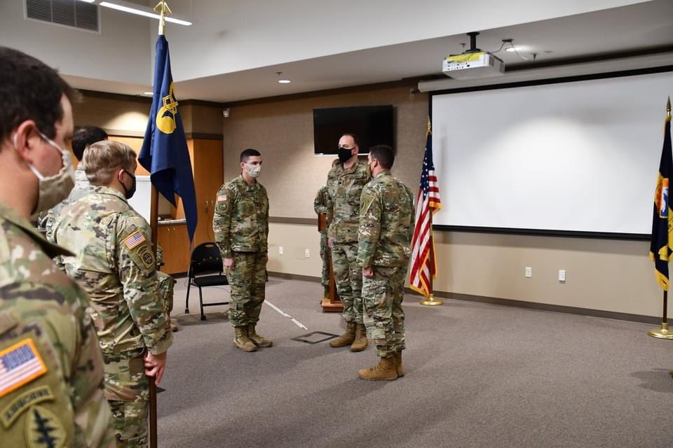 The 190th Chemical Reconnaissance Detachment held a Change of Command ceremony during their January drill at Fort Harrison. Congratulations to Cpt. Cantrell on his assumption of command and thank you to Cpt. Babbitt for his service to the 190th!