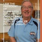 Image for the Tweet beginning: Geoff Failes, President of Illawarra