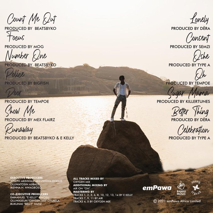 'Somewhere Between Beauty and Madness' track list
