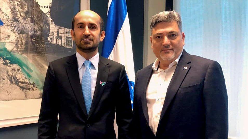 إسرائيل تغرد : رياح السلام وصلت إلى أقاصي الأرض، لنيوزيلندا! إلتقى السفير الإسرائيلي ران يعقوبي اليوم بالقائم بأعم…