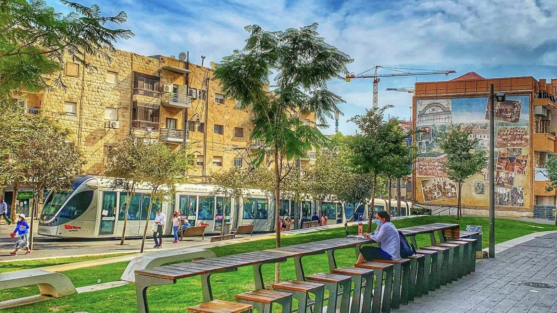 اجمل بقاع الارض !  القدس، عاصمة دولة اسرائيل   RamiCohen …