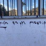 Image for the Tweet beginning: Esta pintada en Murcia es