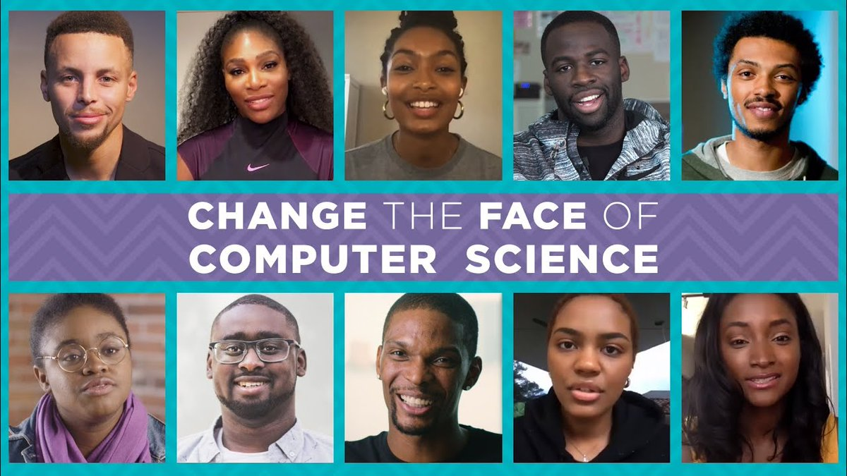 Only 3% of Black students learn computer science in high school or beyond. Please watch and share this video. Inspire a student. Together we can change the face of computer science. #BlackVoicesForCS