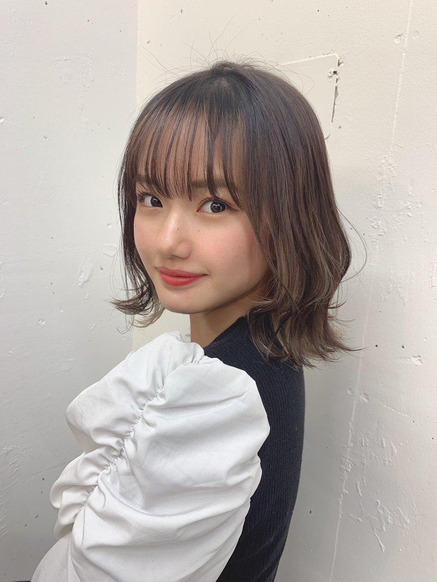 【13期14期 Blog】 ボブやん? 横山玲奈:…  #morningmusume21 #モーニング娘21 #ハロプロ